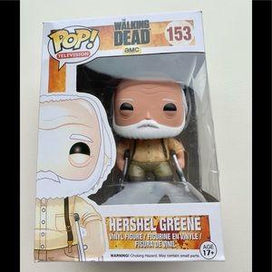 Funko POP The Walking Dead #153 HERSHEL GREENE